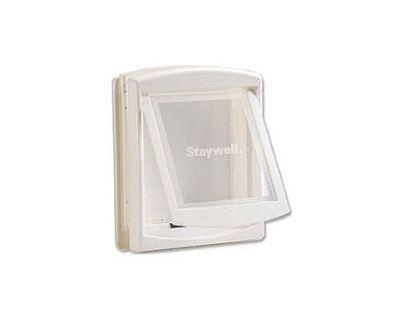 Staywell Dvierka s transparentným flap biela typ 743