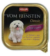 Animonda Vom Feinsten Adult Paštéta - morka & jahňacie pre dospelých psov 150 g