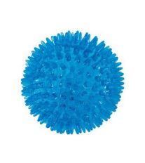 Hračka pes BALL SPIKE TPR POP 8cm s ostny tyrkysZolux