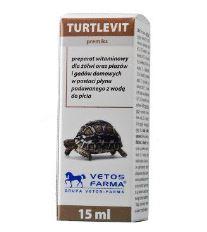 Vetos farma Turtle-vit vitamín pro želvy 15 ml