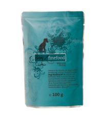 Dogz Finefood No.12 Kapsička - zverina & sleď pre psov 100 g