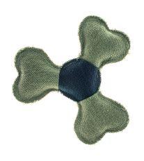 Textilná odolná hračka pre psov disk Argi - 21 cm