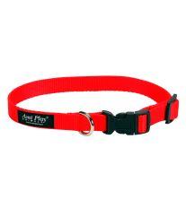 Obojek pro psa nylonový - červený - 2,5 x 45 - 70 cm