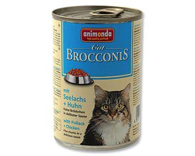 Animonda Brocconis Konzerva - treska & kura pre dospelé mačky 400 g