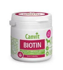Canvit Biotín - výživový doplnok pre kvalitnú srsť psa do 25 kg