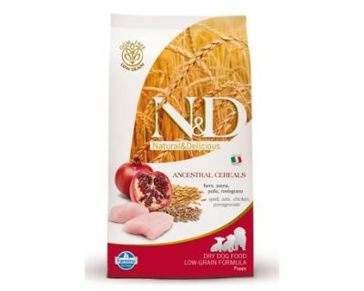N&D Low Grain Dog Puppy Mini Chicken & Pomegranate