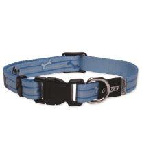 Obojek pre šteňatá - nylonový - Rogz YoYo - modrý - 1,2 x 19 - 30 cm