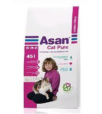 Asan Cat Pure ekologická podstielka 45 l