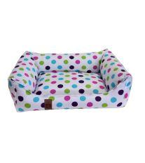 Pelech pre psa Argi obdĺžnikový - odnímateľný povlak z polyesteru - Claire - 80 x 65 cm
