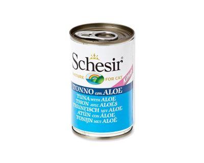 Konzerva SCHESIR Kitten tuňák + aloe 140 g