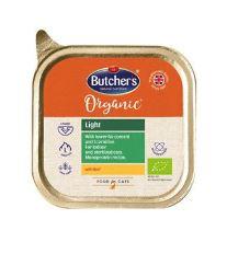 Butcher's Cat Organic Light s hovězím vanička 85g