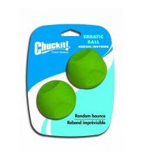 Chuckit! Erratic gumové aportovacia loptičky s nepravidelným odskokom, 2 ks