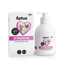 Aptus Eforion Olej mix pre zdravie pokožky, srsti a pazúrov psov a mačiek, 200 ml