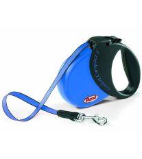 Flexi Comfort Compact 1 samonavíjacie vodítko modré, 5 m