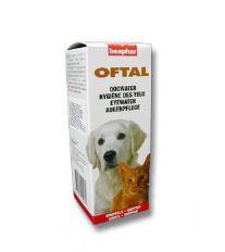Očné kvapky pre psov Beaphar Oftal 50 ml