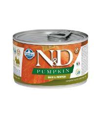N&D DOG PUMPKIN Adult Duck & Pumpkin Mini 140g