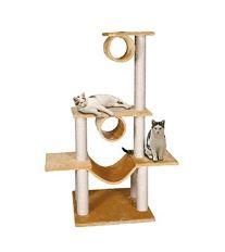 Karlie-Flamingo Škrabadlo VICTORIA béžové 103x57x141cm