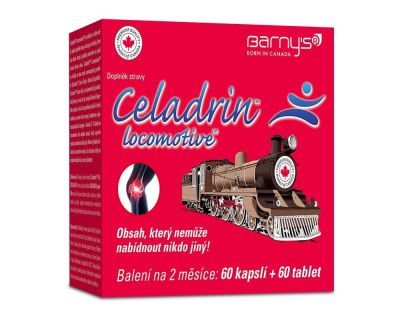 Barny's Celadrin Locomotive 60 kapslí + 60 tablet