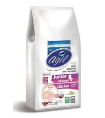 Agil Junior All Breed Pure&Health Low Grain10kg