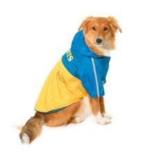 Oblečok SPORT Žltá / Modrá s kapucňou 2V1 KAR 1ks