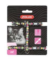 Postroj kočka ARROW nylon černý Zolux