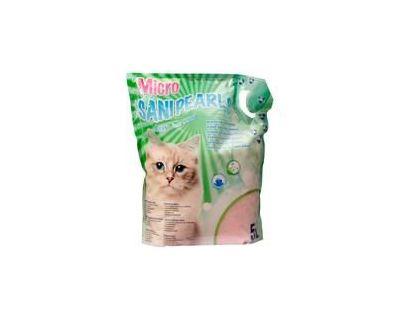 Sanipearls Micro silikátová podstielka pre mačky 5 l
