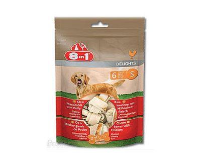 8in1 Delights bag žuvacie kosti - veľkosť S 240 g