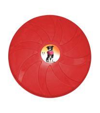 Frisbee - létající talíř Argi - červený - 23,5 cm