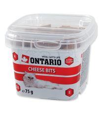 Ontario Snack Cheese Bits - syrová pochúťka pre mačky 75 g