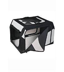 Prepravka Vario nylon L 99x67x71 / 61cm čierno-šedá 1ks