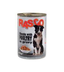 Konzerva RASCO drůbeží kousky ve šťávě