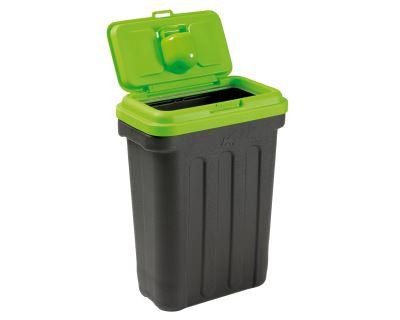Maelson box na granule - černá / zelená - 41 x 25 x 56 cm