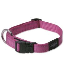 Obojok pre psa nylonový - Rogz Utility - růžový - 2 x 34 - 56 cm