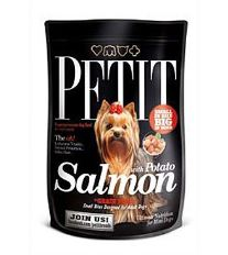 Petit Dry Adult Salmon with Potato Grain Free 300g - EXPIRÁCIA 20/6/18