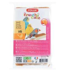 Sušenky pták CRUNCHY CAKE HONEY 6ks 75g Zolux