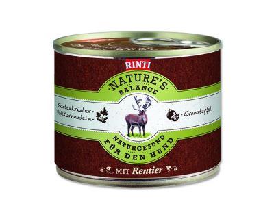 Rinti Nature´s Balance Konzerva sob & cestoviny & vajcia pre psov
