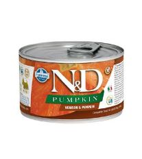 N&D DOG PUMPKIN Adult Venison & Pumpkin Mini 140g