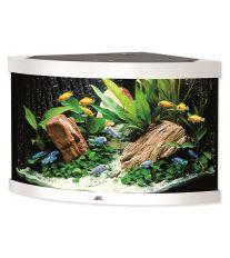 Juwel Trigon 190 akvárium set rohový biely 98x60x50 cm, objem 190 l