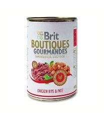 Brit Boutiques Gourmandes Chicken Bits & Paté - kura v kréme 400 g