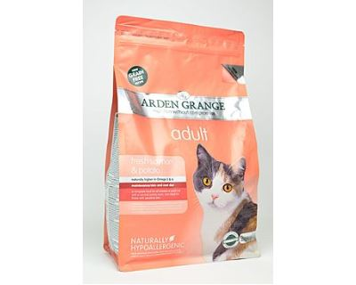 Arden Grange Cat Adult Salmon & Potato - losos & zemiaky 2 kg