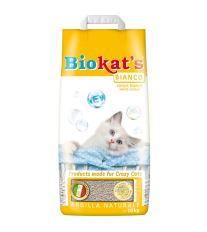 Gimpet Biokats Bianco podstielka hrudkujúce bez vône, 10 kg