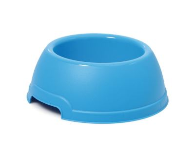 Plastová miska s protiskluzem Argi - modrá - 750 ml