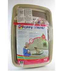 Savic Toaleta & podložky Puppy trainer M - sada pre tréning šteniat, 48 x 35 cm
