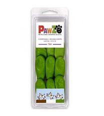 Pawz Topánočka ochranná kaučuková svetlo zelená - veľkosť Tiny, 12 ks