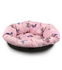 Vankúš Morfeo do plastového pelechu Argi 110 cm - ružový