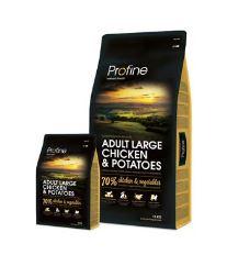 Profine NEW Dog Adult Large Chicken & Potatoes 15 kg