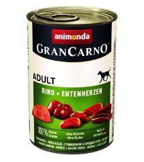 Animonda Gran Carno Adult Konzerva - morka & kačica pre psov