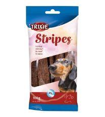 TRIXIE STRIPES Light - hovězí pásky 10ks/100g