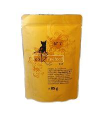 Catz Finefood No.7 Kapsička - teľacie pre mačky 85 g