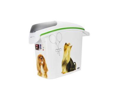 Curver Kontajner na suché krmivo so vzorom psa, 6 kg